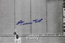 Giants Willie Mays Signé Authentique 16x20 Le Catch Photo Avec Say Hey Hologram