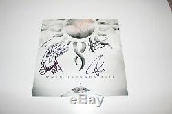 Godsmack Band Signé Legends Authentic'when ' . 12x12 Album Photo Flat Coa X4
