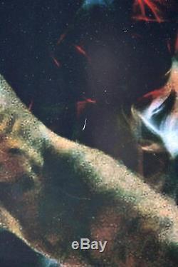 Heat Lebron James Authentique Signé 35x47 Photo Le # 48/106 Uda & # Bas A68035