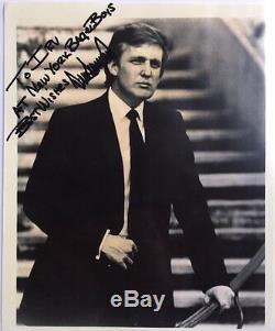 Hou La La! Signé Photographie Atout Républicain 45 Donald President Autograph Authentique