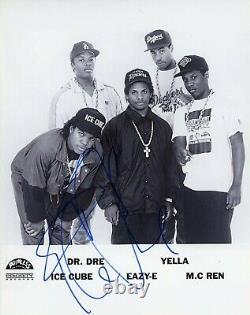 Ice Cube Authentique Nwa Signé À La Main Rapper Vendredi Photo 8x10
