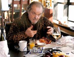 Jack Nicholson Les Infiltrés Authentique Signé 11x14 Photo Psa / Dna # Q31319