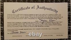 James Dean Hand Signé Autographed Authenticated Page