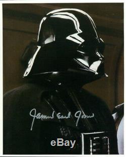 James Earl Jones (star Wars) Signé Authentique 8x10 Photo Coa