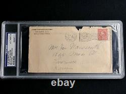 James Naismith Psa/dna Signé Enveloppe Autographe Certifié Authentique, Rare