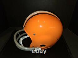 Jim Brown Autographed Authentic Suspension Browns Casque Radtke Authentic/pic