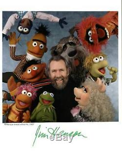 Jim Henson Muppets Authentique Signé 8x10 Photo Dédicacée Bas # A00324