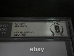 John Williams Signed Autograph 5x7 Star Wars Compositeur Beckett Bas Authentic Slab
