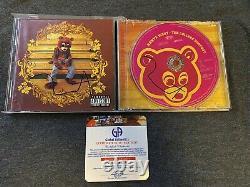 Kanye West Autograph Yeezy Twice Signed The College Dropout CD Coa Authentifié