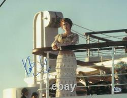 Kate Winslet Signé 11x14 Photo Titanic Authentic Autograph Beckett Coa A