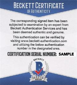 Keanu Reeves Signé 11x14 Photo The Matrix Authentic Autograph Beckett Coa E