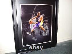Kobe Bryant 16x20 Panini Authentic Autographed Photo #15/124