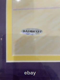 Kobe Bryant Autographié 16x20 Upper Deck Authentifié Extrêmement Rare #60 De 108