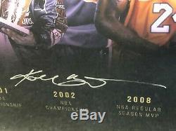 Kobe Bryant Autographié 16x32 Timeline Photo Panini Assermentée
