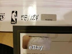 Kobe Bryant Photo Autographiée Seulement 124 Fait! 12x36 Lakers Panini Authentique Coa