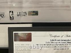 Kobe Bryant Signé À Travers Les Années Panini Authentic Autographié 68/124