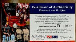 Kobe Bryant Signé Autographed Authentic Jersey #8 Photo Et 6 Bagues Psa/dna