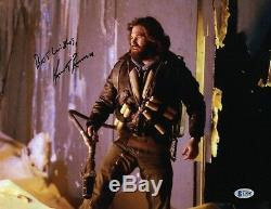 Kurt Russell Signé Authentique Autograph La Chose 11x14 Photo Beckett Bas Coa 2