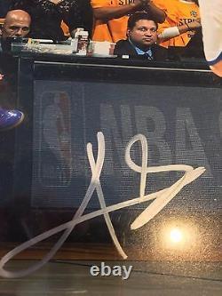 Kyrie Irving 16 X 20 Autographié Photo Couleur Psa / Adn Certifié Authentique