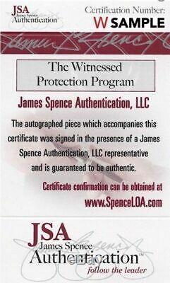 L'undertaker Signé Autographié 16x20 Photo Jsa Assermentée Wwe Wwf Wcw 1