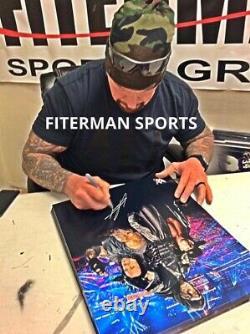 L'undertaker Signé Autographié 16x20 Photo Jsa Assermentée Wwe Wwf Wcw 4