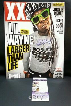 LIL Wayne Photo Signee 11x14 Weezy Jsa Authenticated
