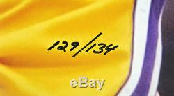 Lakers Shaquille O'neal Authentique Signé 16x20 Photo Le 134 Fanatics Coa