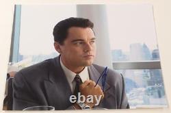 Leonardo Dicaprio Signé 11x14 Photo Le Loup De Wall Street Autographe Authentique
