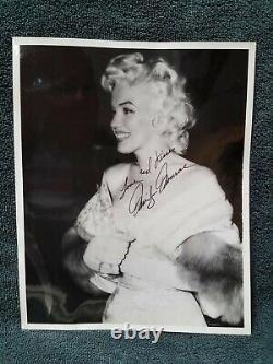 Marilyn Monroe Signé Autographié Inscrit 8 X 10 Photo