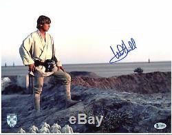 Mark Hamill Star Wars Authentique Signée 11x14 Photo Dédicacée Bas # A78933