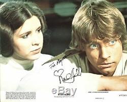 Mark Hamill Star Wars Authentique Signée 8x10 Photo Dédicacée Bas # B38853