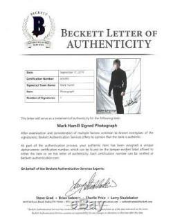 Mark Hamill Wars Signés Étoiles Authentique Autographié Photo 8x10 Beckett # A54992