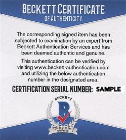 Michael Douglas 11x14 Photo Signée Wall Street Authentic Autograph Beckett Coa B