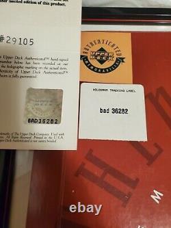 Michael Jordan Super Deck Authenticated Framed Signé 8x10 Photo #651 À 1200