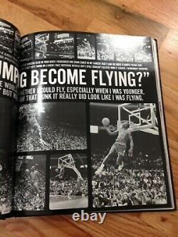 Michael Jordan Uda Upper Deck Authentic Autographié 8.5x11 Noir Et Blanc Photo