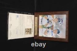 Mickey Mantle Multi Signé 8 X 10 Imprimer Avec Don Mattingly Jsa Coa Pc1344