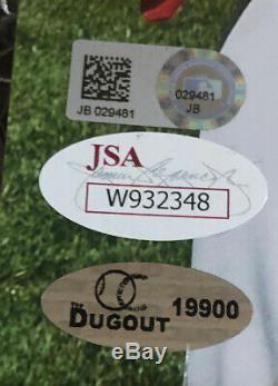 Mike Trout Albert Pujols Signé 11x14 Autograph Photo Jsa Mlb Hologramme Authentique