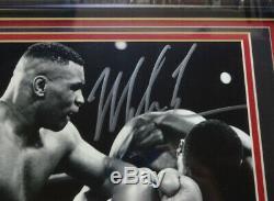 Mike Tyson Autographié Authentique Signé Avec Cadre Photo 8x10 Psa / Adn 90723