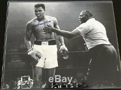 Muhammad Ali A Dédicacé 8x10 Photo, Signée À La Main, Authentique, Coa