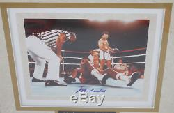 Muhammad Ali A Dédicacé Signé Encadrée Photo 8x10! Garanti Authentique