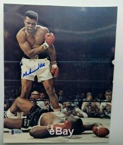 Muhammad Ali Authentique Autographié Signé Photo 8x10 Beckett Bas # A59162