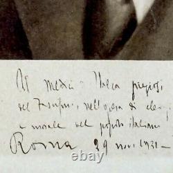 Mussolini Benito Italie Signed Document Photograph Autograph Manuscript Royalty Mussolini Benito Italie Signed Document Photograph Autograph Manuscript Royalty Mussolini Benito Italie Signed Document Photograph Autograph Manuscript Royalty Muss