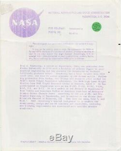 Neil Armstrong Dédicacé 8 X Signé 10 Photo Apollo 11 Nasa Authentique Loa