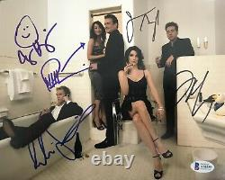 Neil Patrick Harris How I Met Your Mother Complete Cast Signed 8x10 Photo Bas