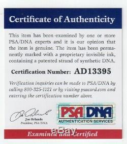 Ozzy Osbourne Signé Publicité Photo Psa / Dna Certifié Authentique Autograph Auto