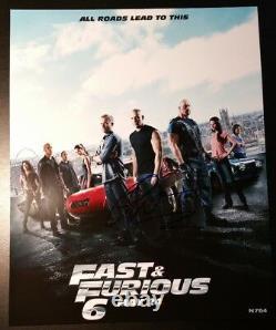 Paul Walker The Fast And The Furious Signé Autographié 8x10 Photo Authentique