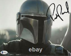 Pedro Pascal Star Wars Mandalorian Autographié Signé 8x10 Photo Beckett Bas Coa