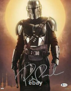 Pedro Pascal The Mandalorian Star Wars Topps Authentics Signed 11x14 Photo Bas A