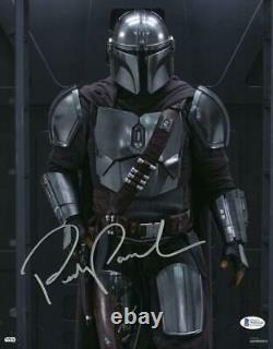 Pedro Pascal The Mandalorian Star Wars Topps Authentics Signed 11x14 Photo Bas E