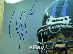Ray Lewis # 52 Psa / Adn Signe 16x20 Certifié Autograph Authentique Photographie